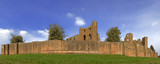 kenilworth castle warwickshire the midlands england uk poster