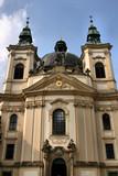 Beautiful baroque church of Saint John the Baptist in Kromeriz poster