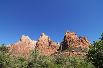 Court of the Patriarchs, Zion NP, Utah