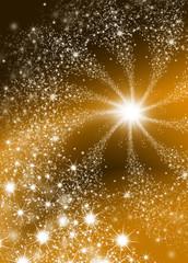 Sternschnuppe - Sternenhimmel