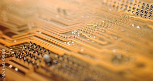 Leinwanddruck Bild mainframe IV