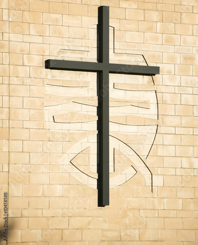 cross on methodist church warwick uk