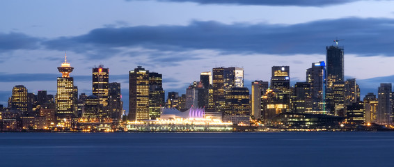 Vancouver, Canada as seen from the North Shore.