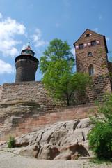 Nürnberg Sinwelturm Kunigundenkapelle Burgberg Burg