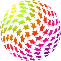 Sphere d'étoiles