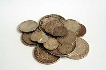 Silbermünzen 3