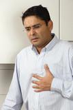 Heartburn pain poster
