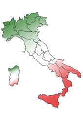 Italy - colori bandiera