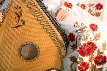 The traditional Ukrainian instrument