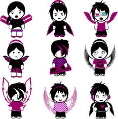 Nine Emo Angels