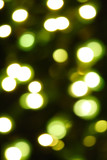 blur abstract color background, defocused photo of lamps poster