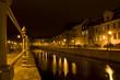 Stadtkanal Potsdam bei Nacht