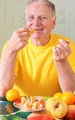 old men with orange