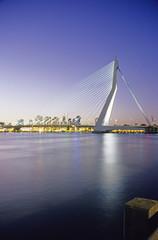 Erasmusbridge, Rotterdam, Zuid-Holland, Niederlande