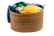 Laundry in a laundry basket