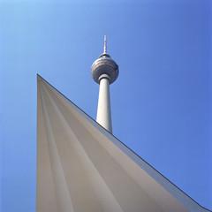 Alexanderplatz, Fernsehturm, Berlin, Deutschland