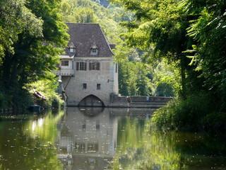 Ecluse et moulin d'Aulanac
