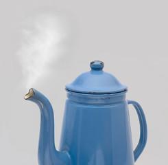 Coffee Can Madam Blue Steam