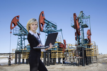 Business in oil industry . Management and control