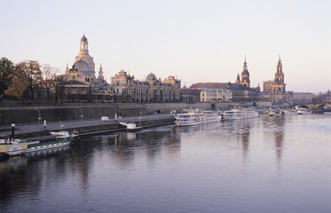 Deutschland, Dresden, Brühlsche Terrasse