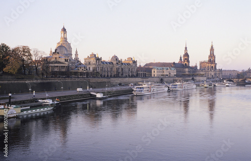 Germany, Dresden, Bruehl Terrace