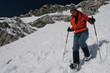 Snowshoe descent