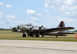 World War II era Flying Fortress bomber