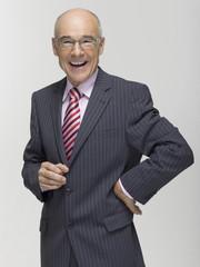 Senior Business Mann lächeln, Porträt