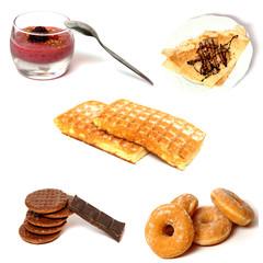 desserts gras