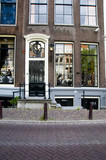 the otto frank house anne frank hid from nazis amsterdam poster