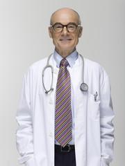 Senior männlich Arzt, Portrait