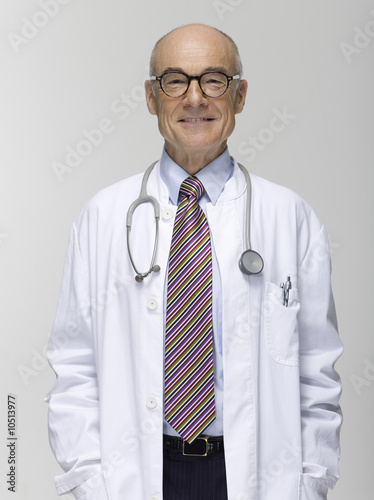 Senior male doctor, portrait