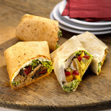 Wraps, filled with chicken
