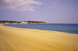Spain, Catalonia, Costa Brava, sandy beach