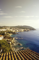 Spanien, Katalonien, Costa Brava, die Stadt am Strand