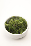 Wakame algae, side dish for sushi