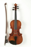 Violin and bow, close-up