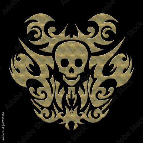 totenkopf tattoo. Skull - Totenkopf - Tattoo