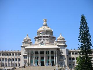 Vidhana Soudha, the Landmark Architecture in Bangalore