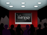 the financial end of the concern poster