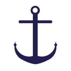 Anchor Shape - Isolated on white