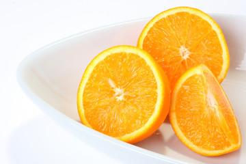 plate of orange