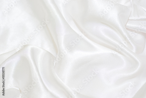 Fotobehang Stof White satin background