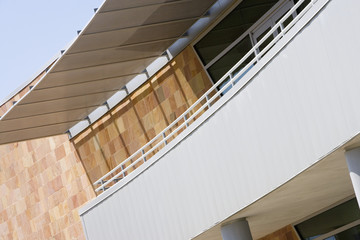 Covered Balcony on Building