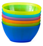 baby color plastic dishes poster