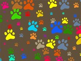 paw wallpaper poster