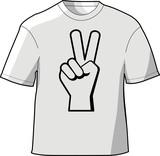 Peace T-Shirt poster