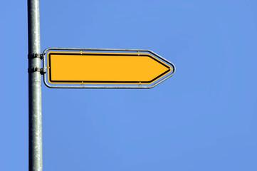 Wegweiser, Richtung, Schild, Symbol
