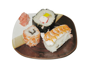 Sushi (isolated)