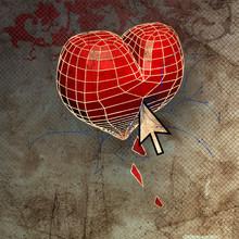 ilustración con el corazón